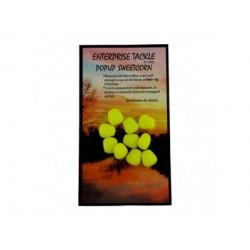 Кукуруза флуоресцентная плавающая желтая Enterprise Tackle pop up Imitation Sweetcorn