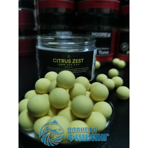 CCMoore Elite Range Citrus Zest Pop-Ups, плавающие бойлы,12 мм