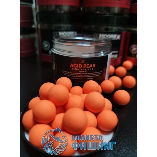 CCMoore Acid Pear (Кислая Груша), Pop Ups, плавающие бойлы,12 мм