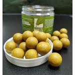 MULTIBAITS Alpine Honey (Мёд Альпийский) насадочные растворимые (пылящие) бойлы 20мм банка 250гр.