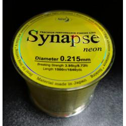 Леска Katran Synapse Neon 1500м 3,95кг/0,215мм (Желтая)
