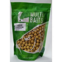 MultiBaits Сладкая кукуруза (Sweet Сorn) вареные бойлы, 14мм, 1кг