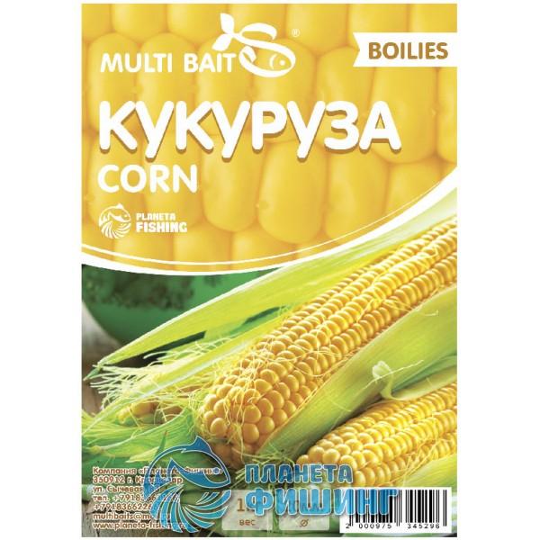 Multi Baits Corn (Кукуруза) вареные бойлы, 20мм 1кг