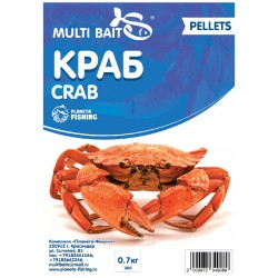 Пеллетс Multi Baits Crab (Краб) 700гр.