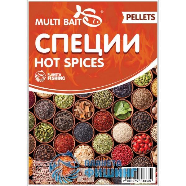 Пеллетс Multi Baits Hot Spices (Специи) 700гр