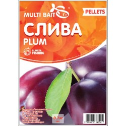 Пеллетс Multi Baits Plum (Слива) 700гр