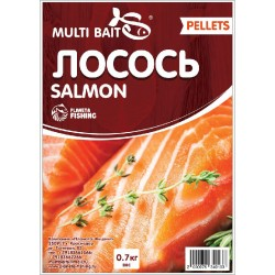 Пеллетс Multi Baits Salmon (Лосось) 700гр